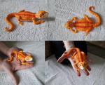 Polymer Clay Red Bearded Dragon