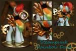 Rainbow Dash Steampunk Figure