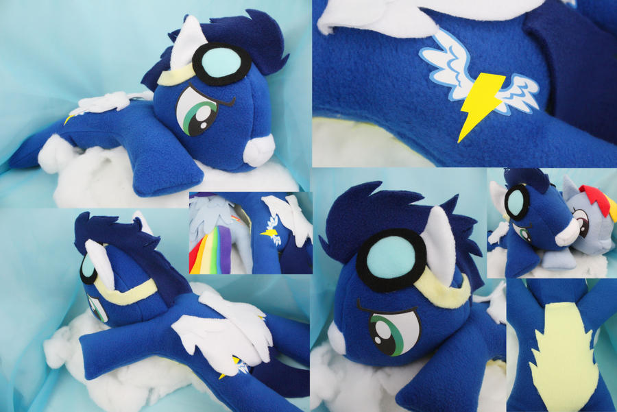 Soarin Plush by bluepaws21