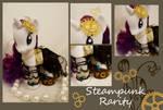 Steampunk Rarity Fashion Pony