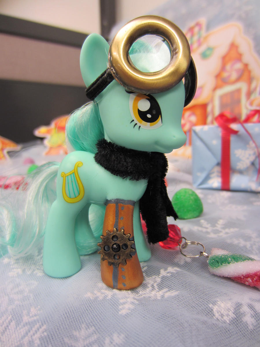 Lyra Steampunk Figure by bluepaws21