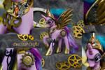 Steampunk Princess Celestia