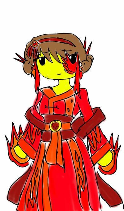 Ninjago oc : Fionna  by SkyRayon