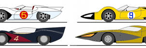 Speed Racer Cars - My Versions