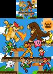Super Smash Brothers by Veni-Mortem