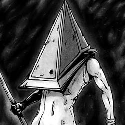 Red Pyramid Thing from Silent Hill 2 by Veni-Mortem