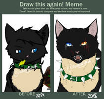 2014 vs 2018 by Aaronsaur