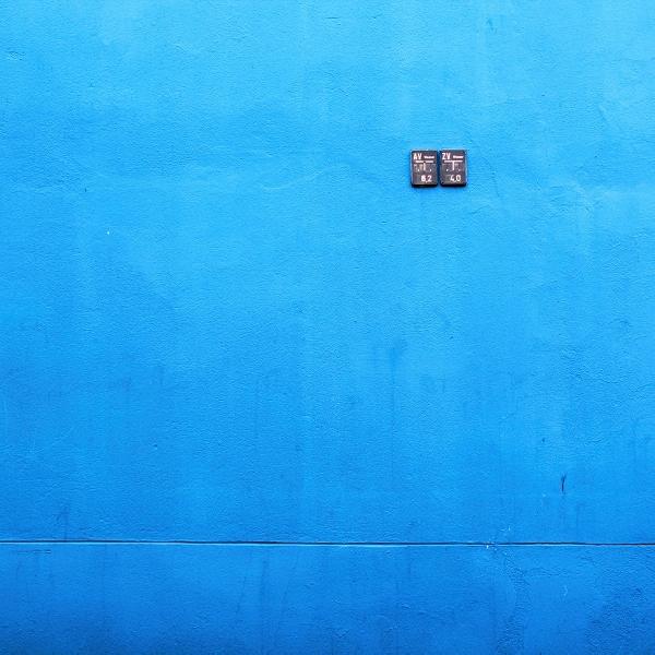 le bleu by Einsilbig