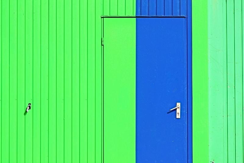 Blue Stripe by Einsilbig