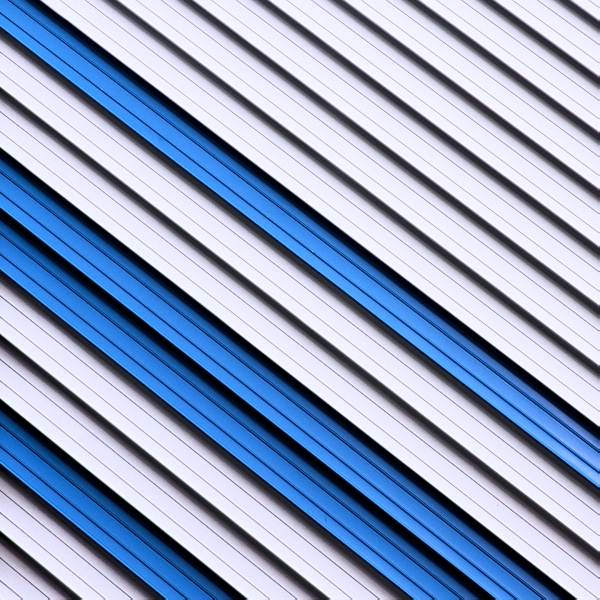 Blue Stripes by Einsilbig