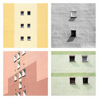 The Windows of Warsaw by Einsilbig