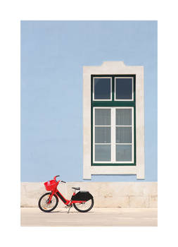 Red Bike, Blue Wall