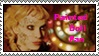Painted Doll Fan stamp by LapisLazuli939