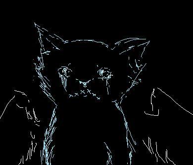 laptop touchpad+crappy paint program+boredom= by Freyathewarriorcat