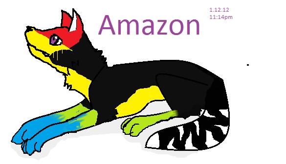 Amazon (touchpad) by Freyathewarriorcat