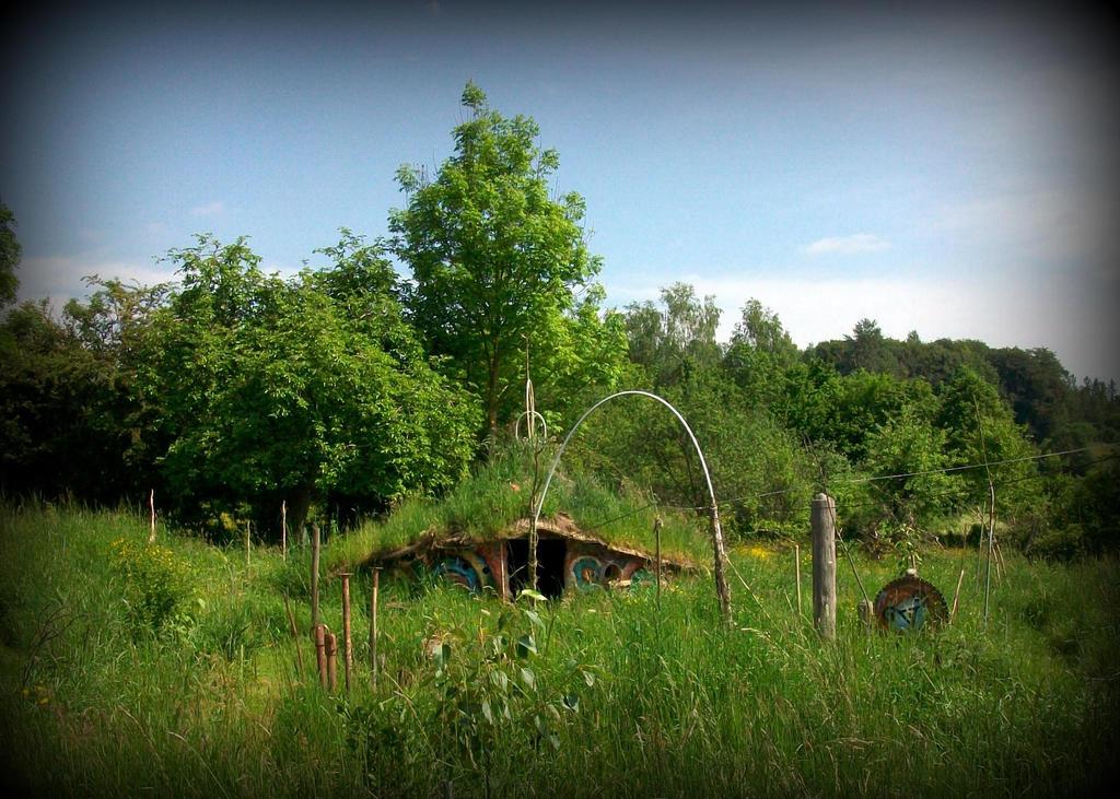 Green Garden Roundhouse Green Roof By Gangahimalaya On