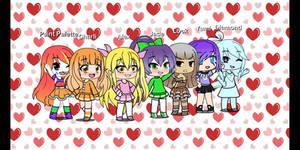 Team Favorite Characters Team In Gacha Life