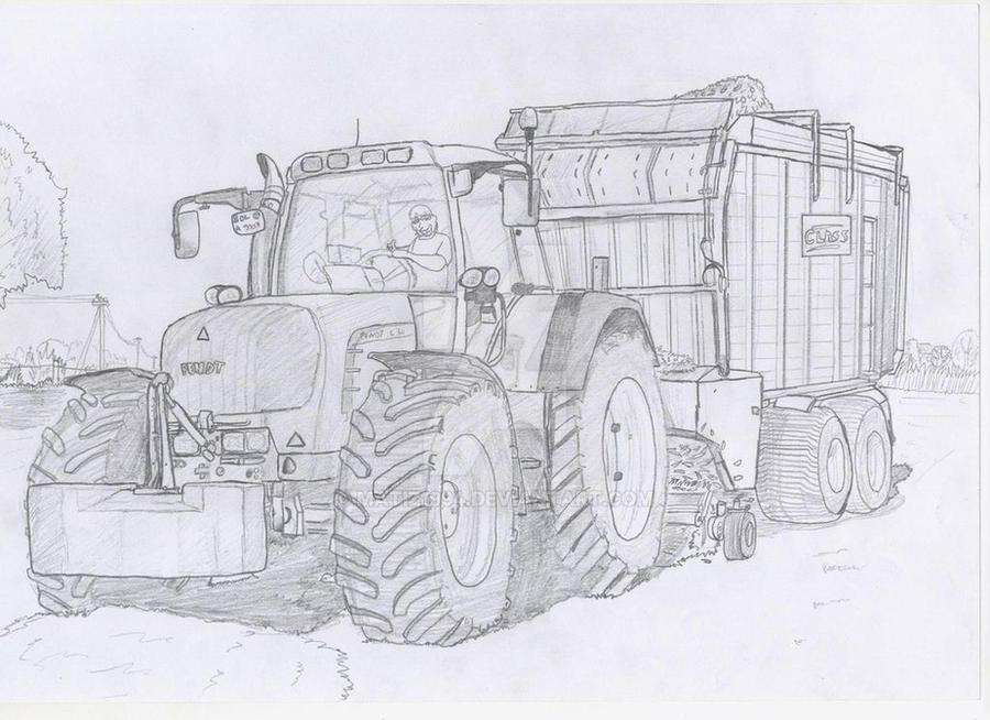 tractor fendt 630 by matiz1994 on deviantart