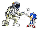 Felix Baumgartner and Sonic