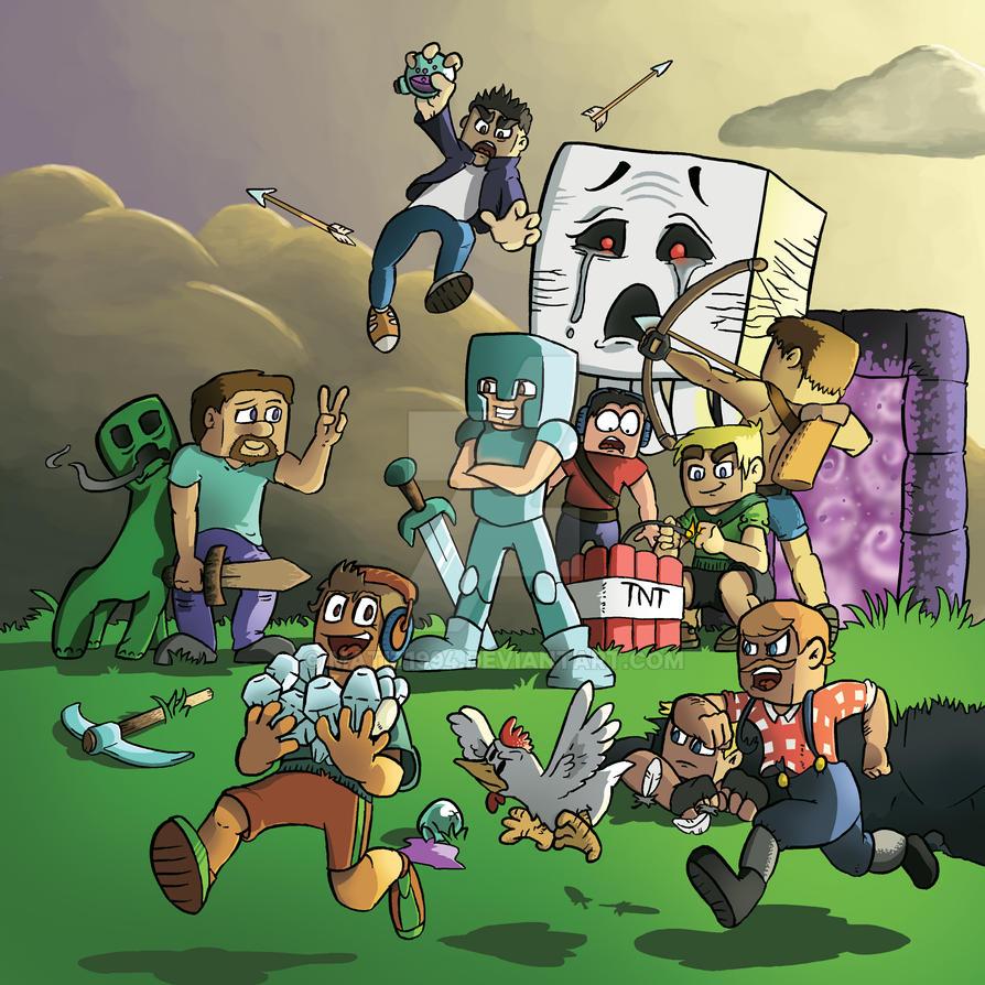 Deviantart Calendar : Minecraft calendar contest by matiz on deviantart