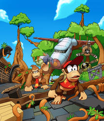 Donkey Kong Country Tropical Freeze: Mangrove Cove