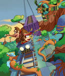 DKC Tropical Freeze: Trunk Twister