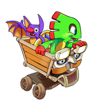 Yooka, Laylee and Kartos