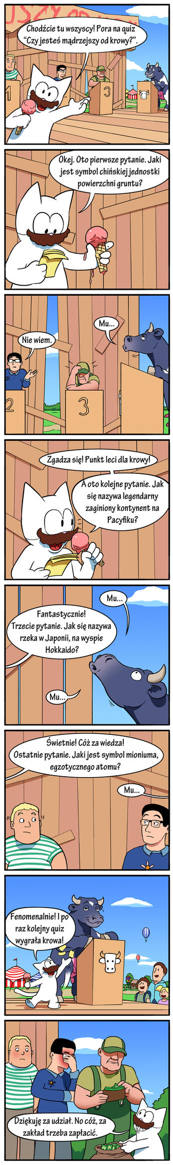 CatZ #11 - Are you smarter than cow? (Polish) by MatiZ1994