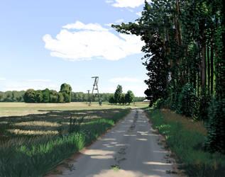 Scenery 8 - August in Zoledowo by MatiZ1994