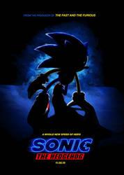 Sonic The Hedgehog The Movie Poster by MatiZ1994
