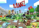 Minecraft Battle 44MC