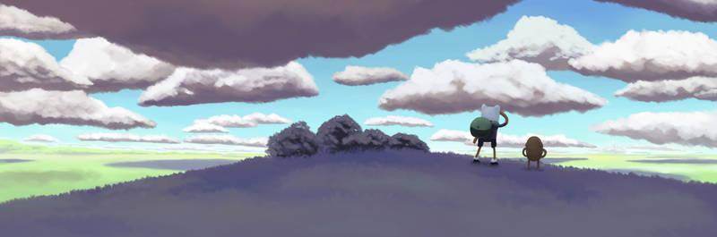 It's Adventure Time