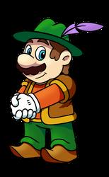 Mario as Morshu