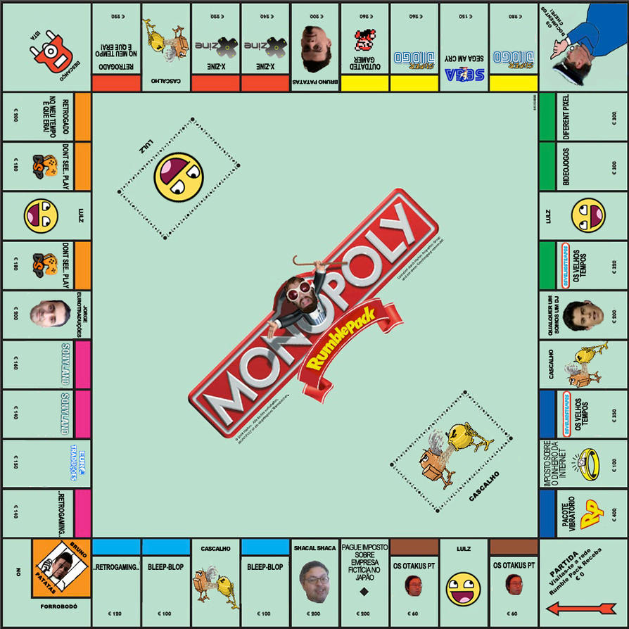 Rumble Pack Monopoly version by Andrecp