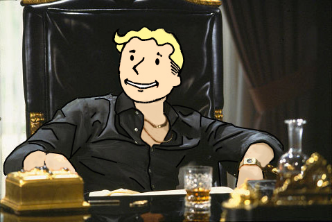 Vault Boy Scarface by Andrecp