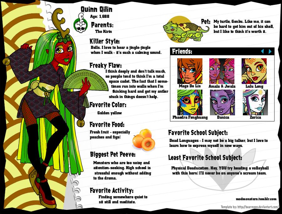Quinn Qilin Profile by ru-debega