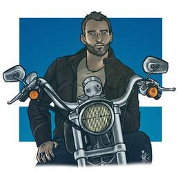 Biker!Benny