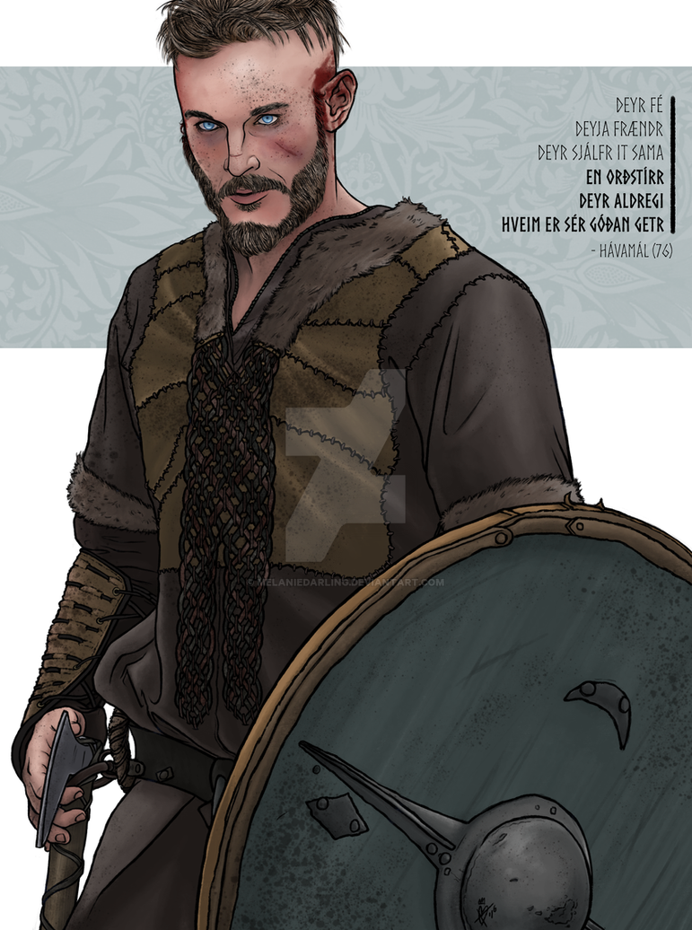 Young Ragnar by MelanieDarling