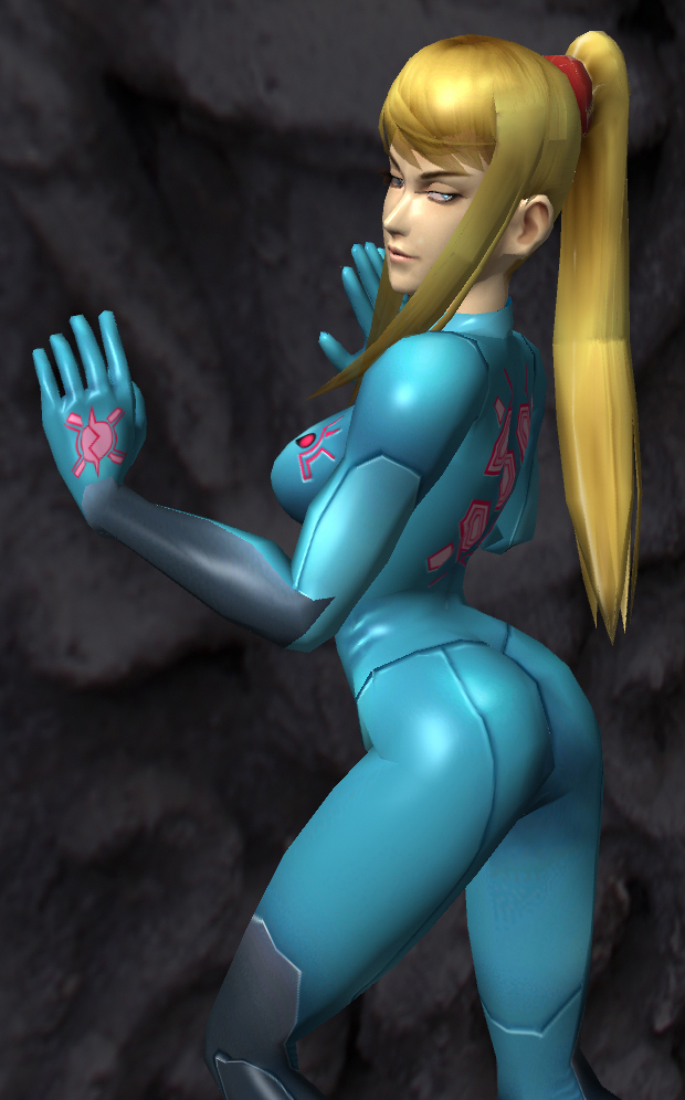 Samus Pose 04 by Ryu-Gi