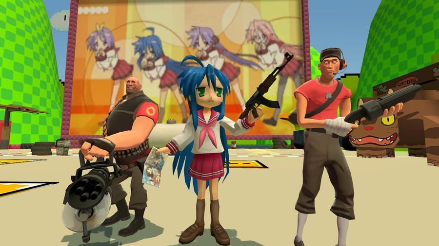 Meet the Otaku-Gmod by Ryu-Gi