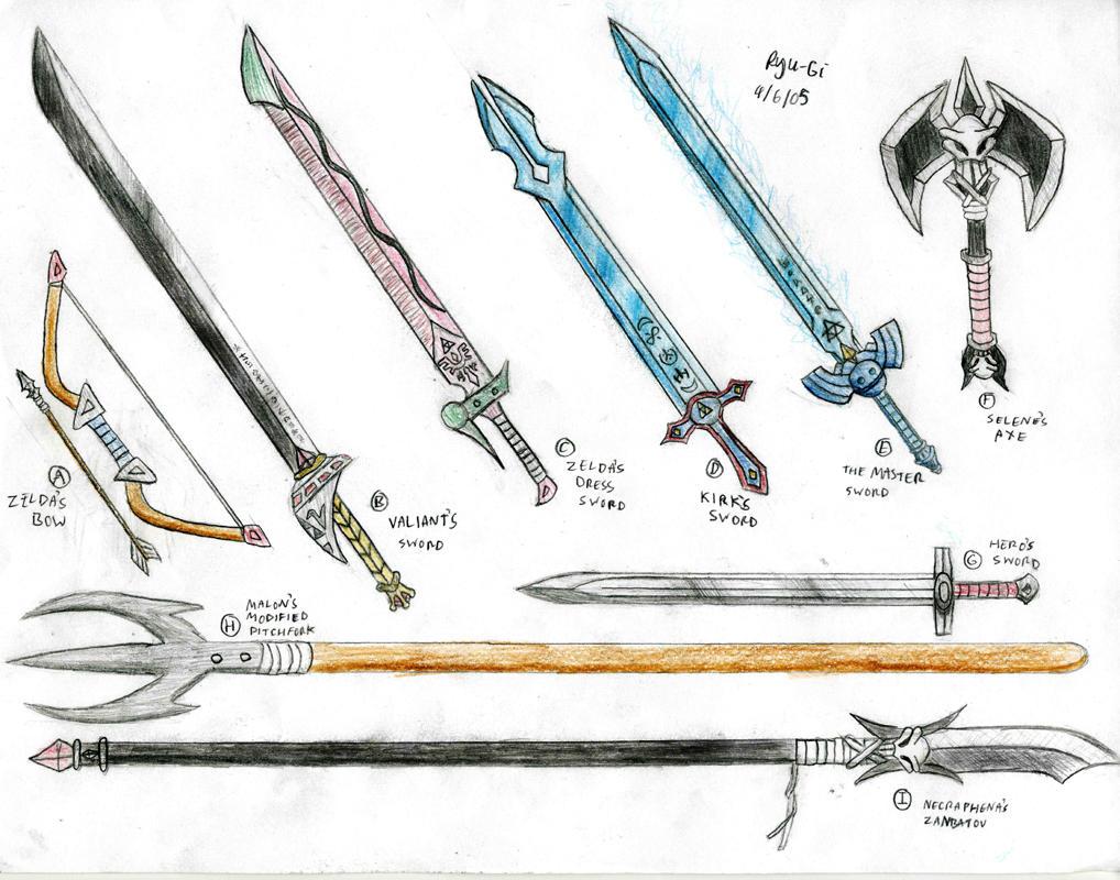 Image Gallery sword names