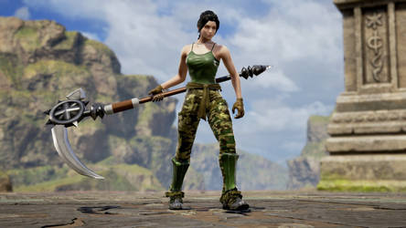 FORTNITE Female Default Skin in Soul Calibur VI