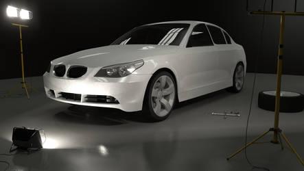 BMW 530 WIP 3rd render