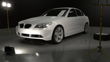 BMW 530 WIP 3rd render by KorruptNinja