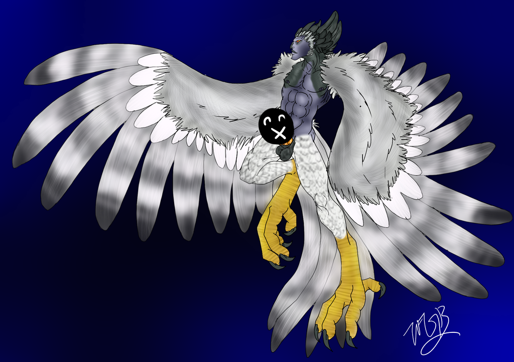 #1 Harpy Boy by Tani-Da-Inki