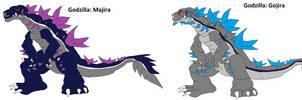 Hyper Era Godzilla: Godzilla by Murlocoverlord