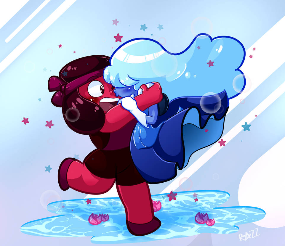 Ruby and Sapphire are one of the most beautiful depictions of a loving, genuine relationship in modern-day media-- I love them so much!!