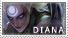 League of Legends Diana Stamp by JenRos