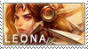 League of Legends Leona Stamp by JenRos
