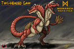 M.D.F. TWO-HEADED GAW